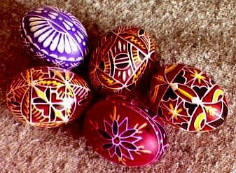 [ Moravian Easter Eggs ]: Pysanky Designs