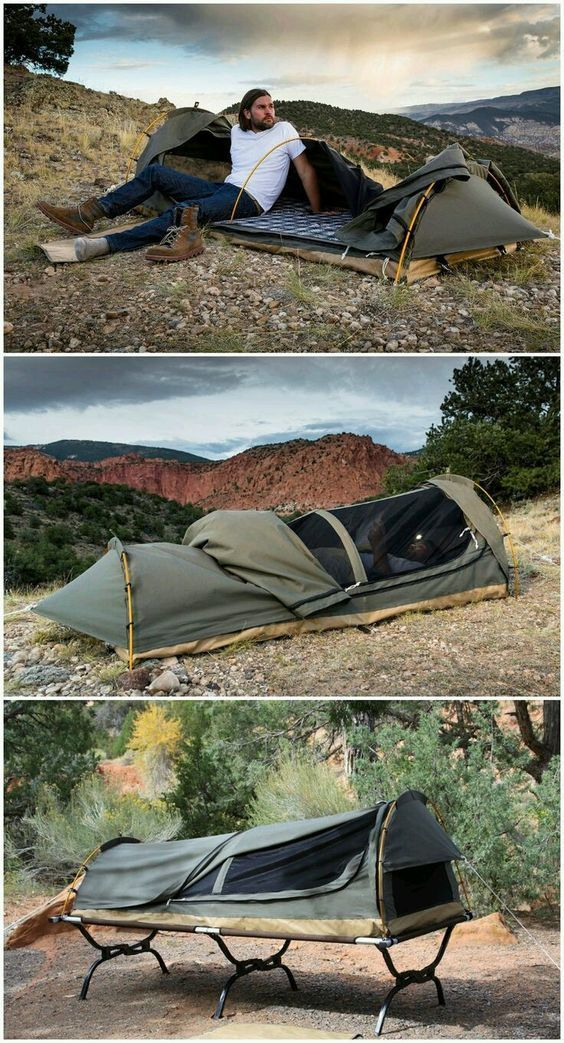 The Modern Bedroll Kodiak Canvas Swag Tent Pinnervoirs