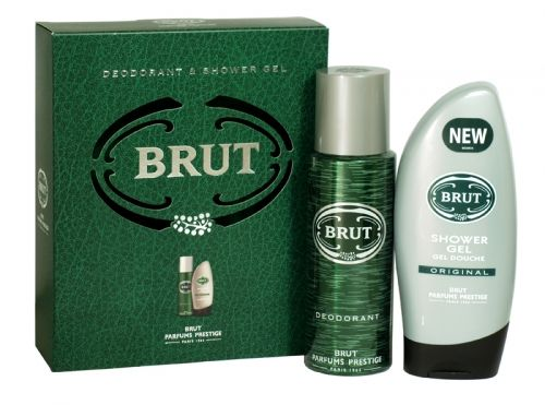 Brut original 2 piece deodorant & shower gel gift set