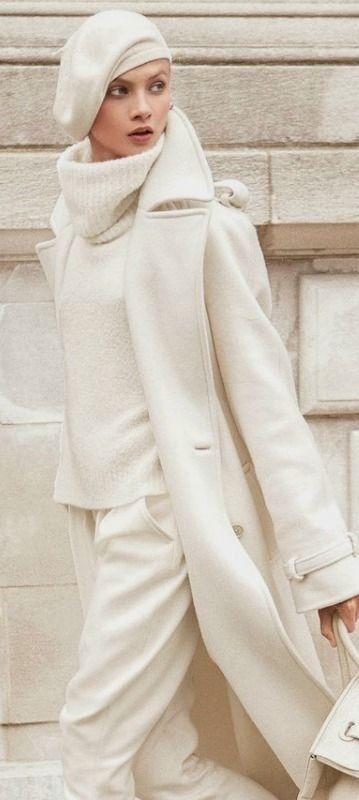 inspiration: winter whites inspiracion - Lady Addict #inspiration