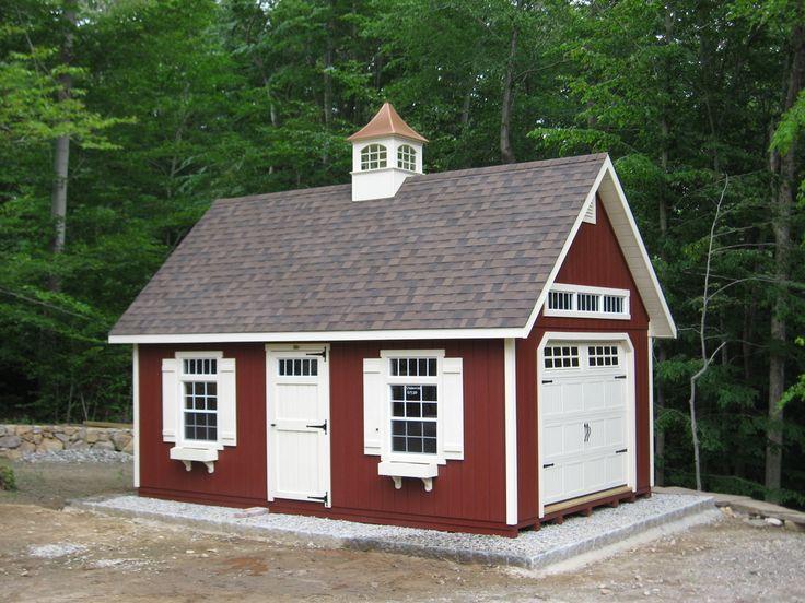 Kloter Farms - Sheds, Gazebos, Garages, Swingsets, Dining, Living, Bedroom Furniture CT, MA, RI: Elite & Manor Garage