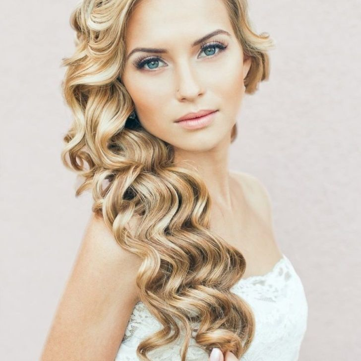 Hairstyles For Curly Hair Tied Up : Best 25 wedding hairstyles for curly hair ideas on pinterest
