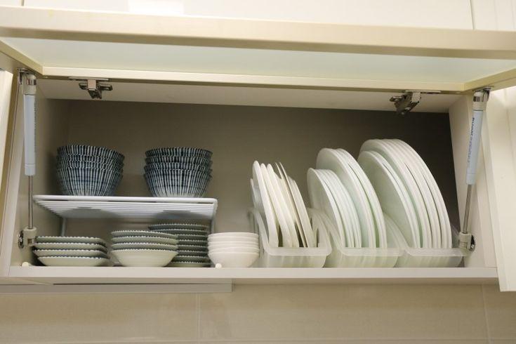 싱크대 그릇 정리 수납 일하기편하게~ 보기좋게~ 싱크대 수납정리를 사부작사부작 올리고있는데 일부 이웃...