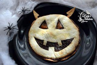 Duly's Kitchen: Tortitas con Chocolate -Diablo Halloween-