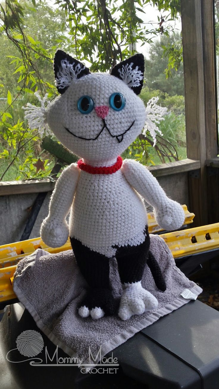 1131 best crochet cats images on pinterest knitting cats and mommy made crochet van the cat crochet pattern free crochet pattern paying it bankloansurffo Image collections