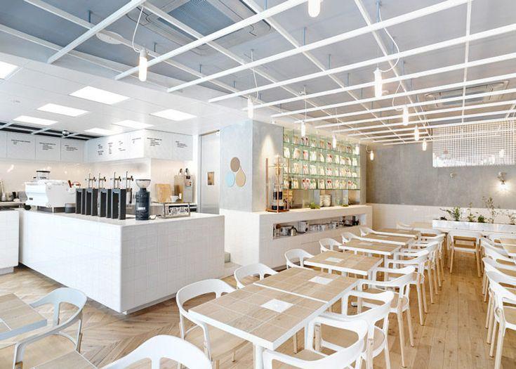 Laboratory coffee houses cafe interior coffee house