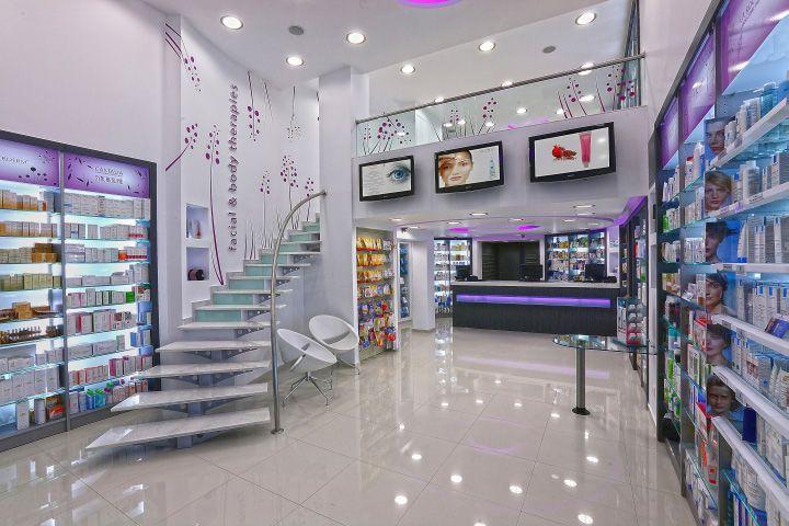 The Lydaki Nitsa Pharmacy Design is Situated in a Modern Loft #pharmacy trendhunter.com
