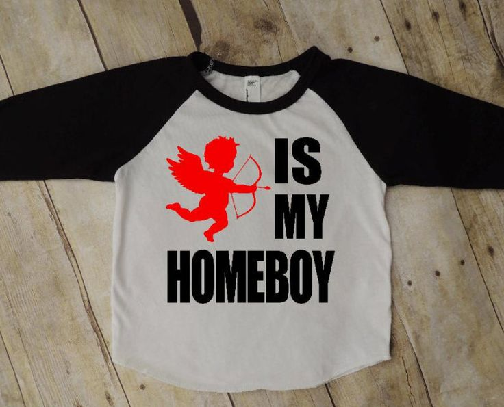 Cupid Is My Homie, Valentines Day, V Day Shirt, Baby Boy,