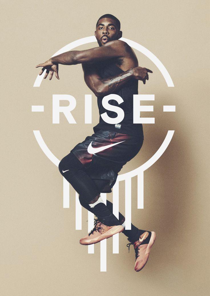 Nike Rise Campaign Identity ○ Studio: Bureau Borsche ○ Location: Germany ○ Client: Nike ↪