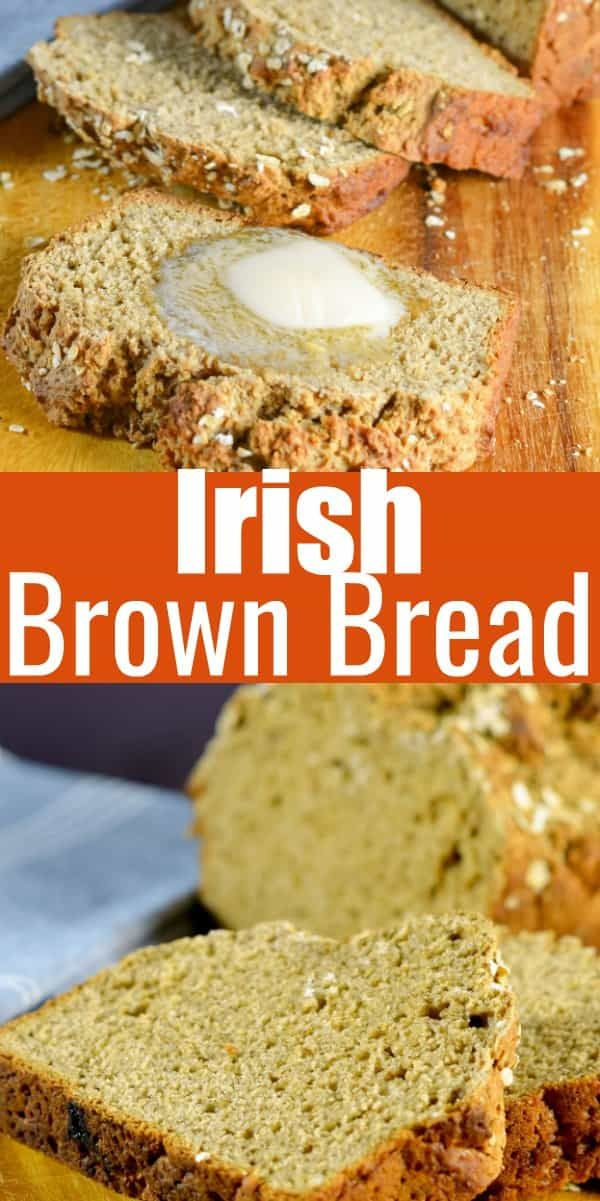 Delicious Irish Brown Bread Recipe With Guinness And Buttermilk For A Delicious Easy Loaf To Make Irish Brown Bread Irish Brown Bread Recipe Brown Bread Recipe
