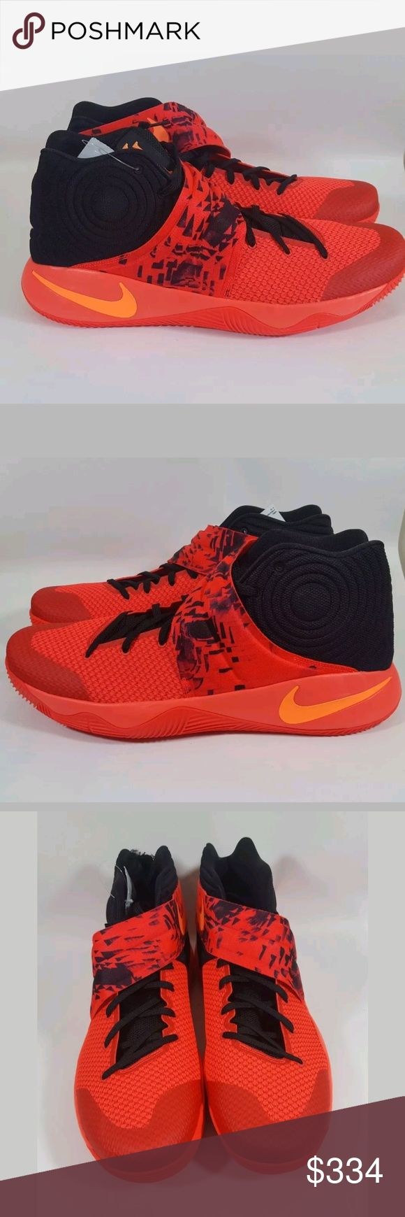 Nike Kyrie 2 Inferno Bright Crimson as 18 New Nike Shoes Sneakers