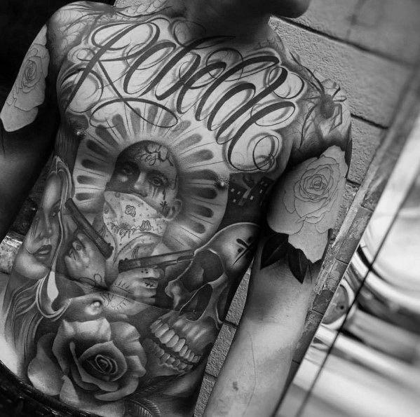 Big Tattoo Designs On Men Cursive Tattoos Body Art Tattoos Tattoo Lettering
