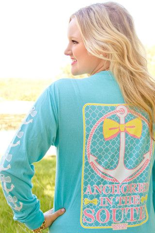 Anchored in the South - Long Sleeve
