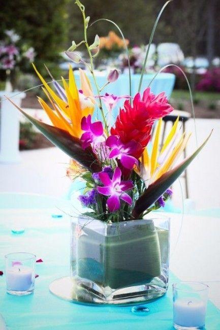 Les 25 meilleures id es concernant bouquets de mariage for Robes pour mariage tropical