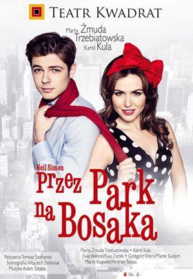 PRZEZ PARK NA BOSAKA<br/>komedia romantyczna w dwóch aktach