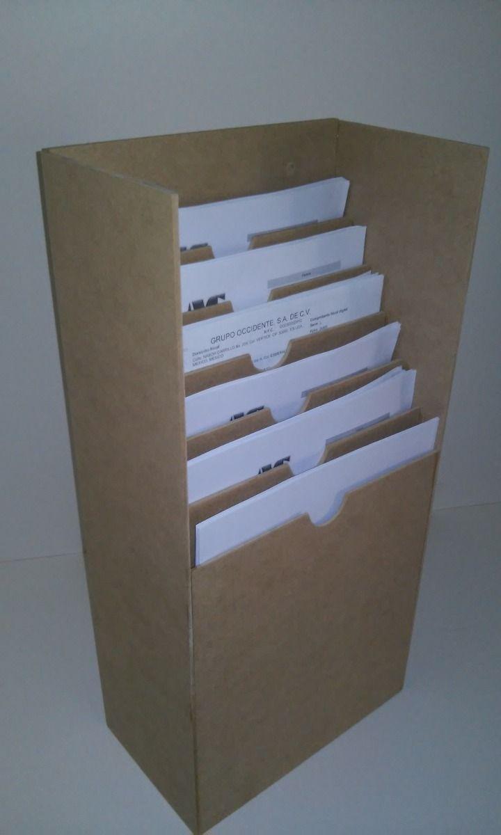 Exhibidor De Hojas Organizador De Documentos De Pared - $ 265.00 en MercadoLibre