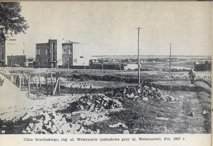 ul. Sowińskiego 1937 r.