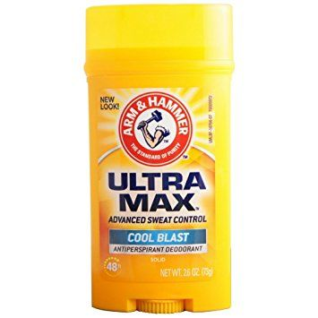 ARM & HAMMER ULTRAMAX Anti-Perspirant Deodorant Solid Cool Blast 2.6 oz (Pack of 6) Review