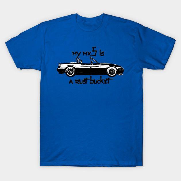 [Cars T-shirt] Mazda MX-5 / NA Rust Bucket