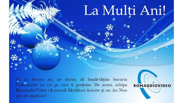 Craciun fericit si un An Nou mai bun!!! La multi ani!