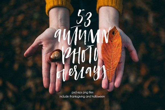 Autumn overlays by Artnis on @creativemarket