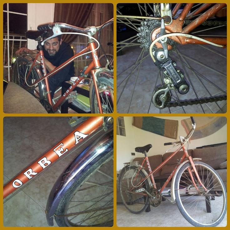 Pasión por la bicicleta   Restaurando mi Orbea