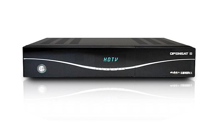 Vynikající HDTV satelitní komplet s přijímačem Opensat IR ALFA s možností záznamu oblíbených pořadů http://www.eltasat.cz/satelitni-komplety/hd-satelitni-komplet-pro-1-tv-opensat-ir-alfa-skylink-2-druzice