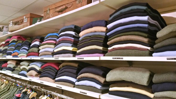 Jumpers, sweaters, knits, woollens or pullovers - whatever you call them, we have them in almost every colour and style! Available from Luck of Louth in Lincolnshire.
