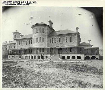 Callan Park Hospital for the Insane was the first purpose-built hospital for moral therapy treatment in Australia. It was constructed between 1880 and 1884, and received its first patients in October 1884