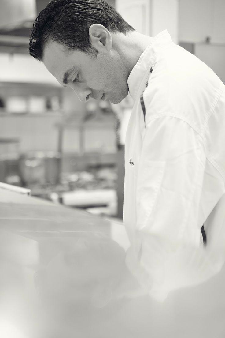 Chef Nikos Zervos at the Belvedere Club Restaurant, Mykonos