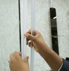 Joints de portes de douche aimantés de GEB