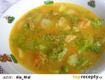 Zeleninová baby polévka recept - TopRecepty.cz