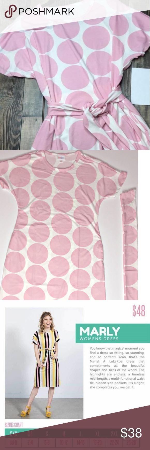 Lularoe Marly Size Chart : lularoe, marly, chart, Lularoe, Marly, Polka, Dress, Waist, White, Short, Sleeve, Scarf, Wais…, Dress,
