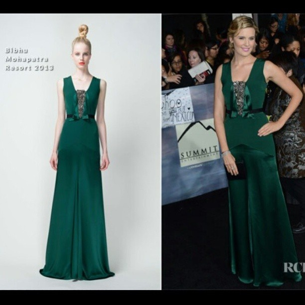 Maggie Grace In Bibhu Mohapatra – 'The Twilight Saga: Breaking Dawn – Part 2' Premiere #kuwait