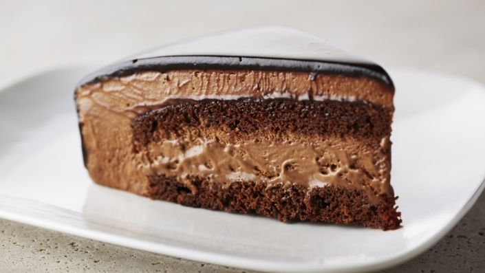 How to make the perfect Rich Chocolate Mousse Cake by Anna Olson on Food Network UK.