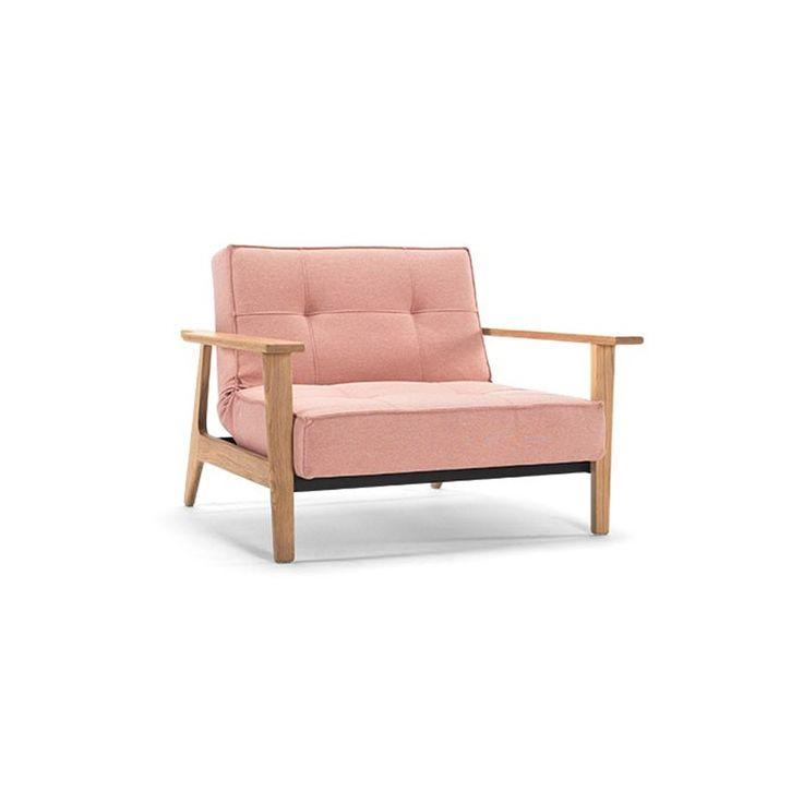 Splitback chair frej 557 soft coral | Deleukstemeubels.nl