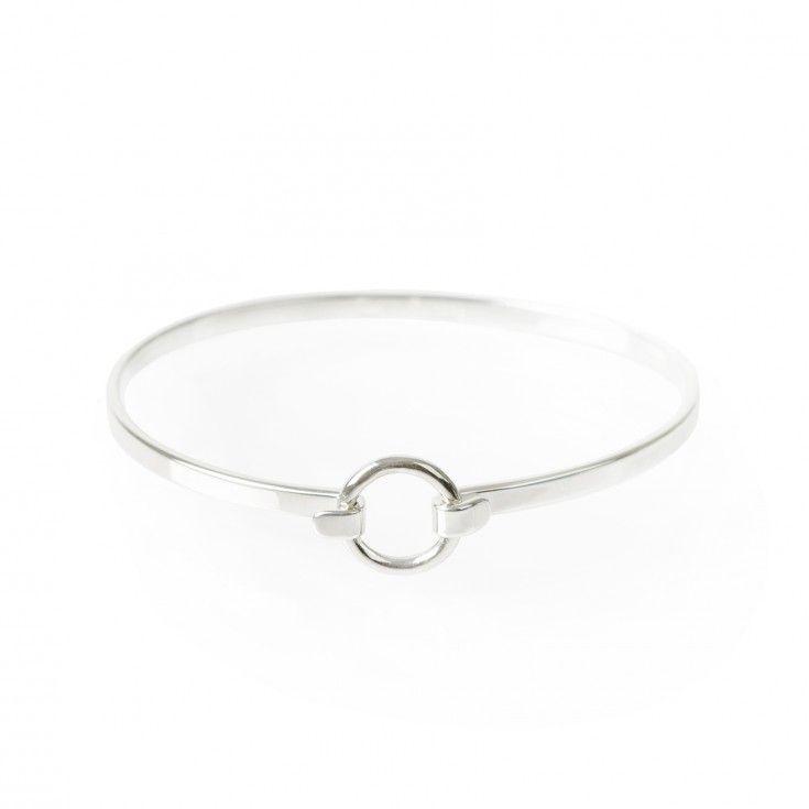 Silverarmband cirkel