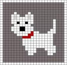 Resultado de imagen para dog knitting chart