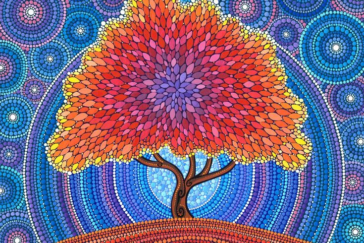 'dot' paintings - Google Search