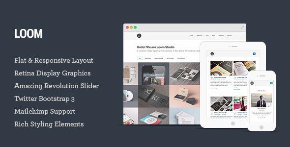 Loom - Multipurpose Responsive HTML5 Template - Creative Site Templates