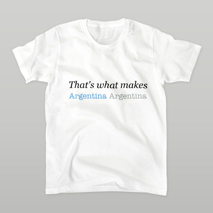 That's what makes Argentina Argentina!! #FIFA #WorldCup #ワールドカップ #Brazil #Argentina #ARG #suzurijp #suzuri