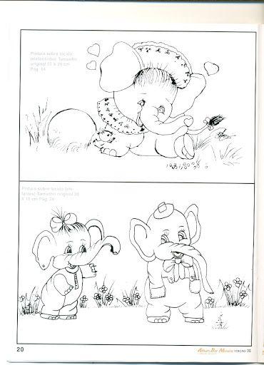 ÁLBUM BIA MOREIRA MOTIVOS INFANTIS N° 35 - Aparecida Zaramelo - Álbuns da web do Picasa
