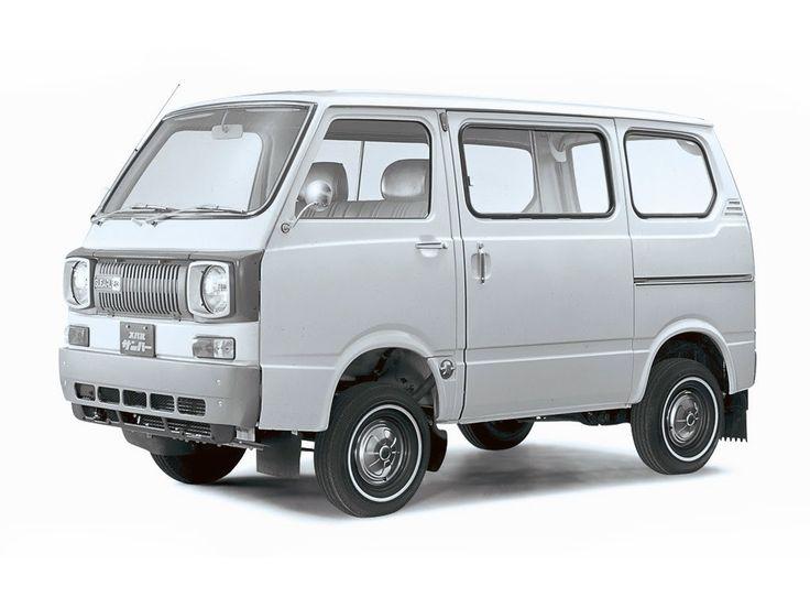 Subaru Sambar (van model based on 360 kei car)