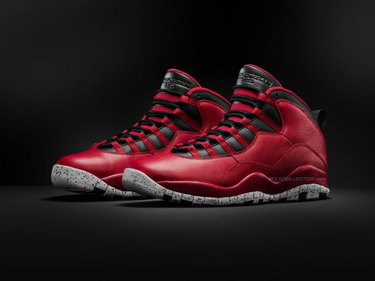 2015 Online Nike Air Jordan 10 Fusion Red Black Laser Orange
