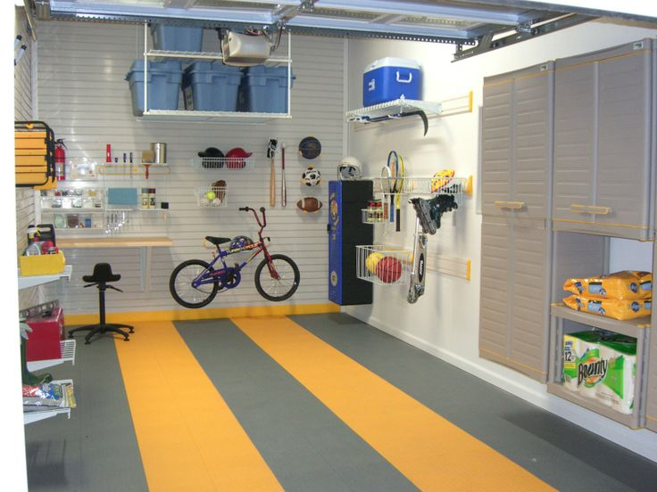 GarageTek Lifestyle Kits To Get Storage Off The Floors And Onto The Walls.