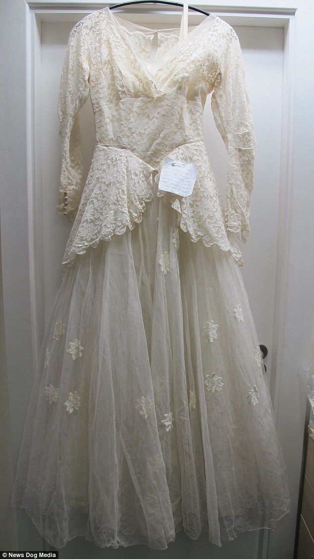 Search For Pensioner Who Donated Late Wifes Wedding Dress To Charity