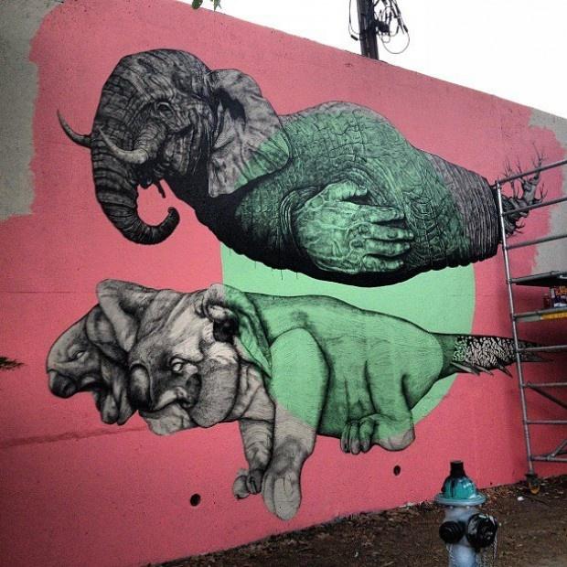 La Pandilla - Living Walls Project, Atlanta