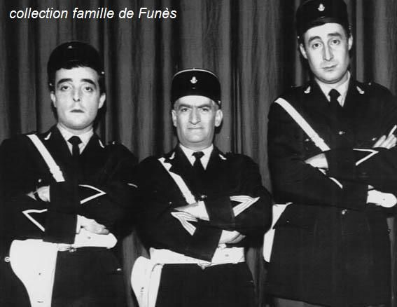 Guy Grosso, Michel Modo et Louis de Funès