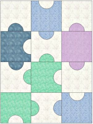 Easy Quilt Patterns...awesome backings!