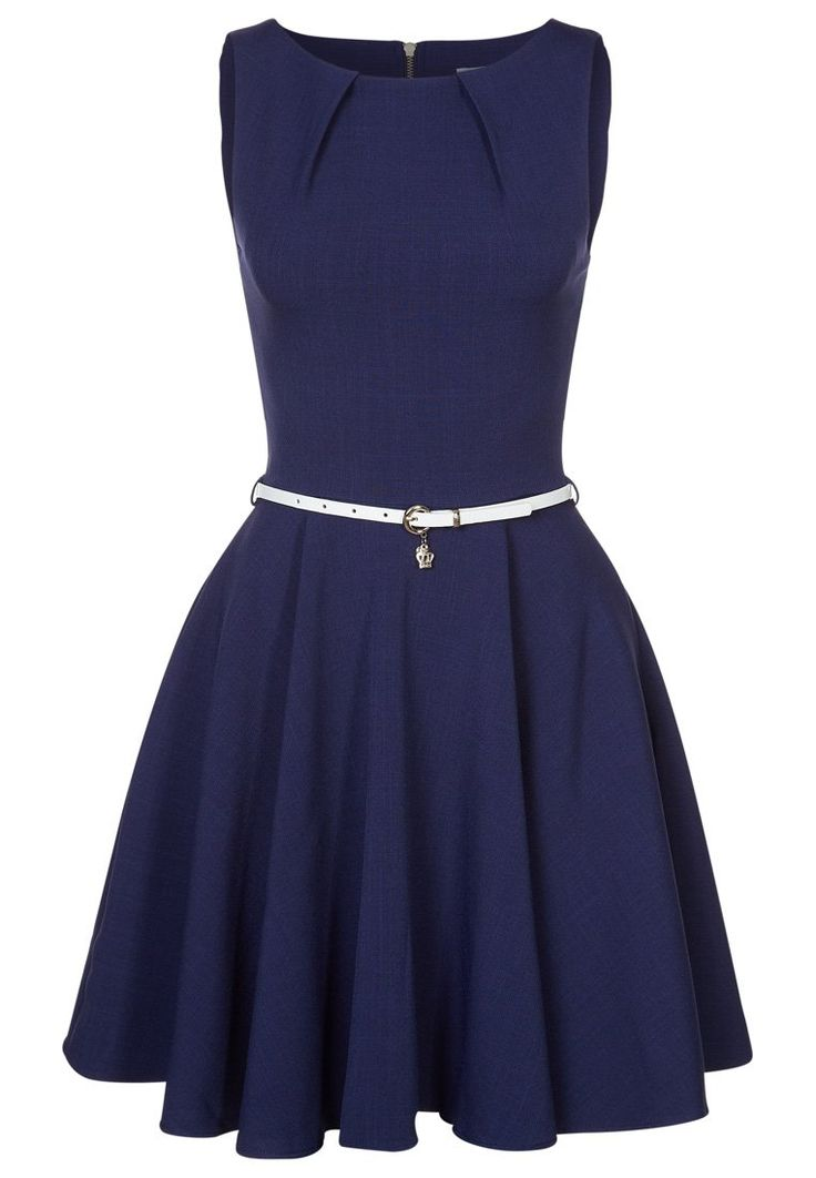 Closet Cocktailkleid / festliches Kleid - navy/cream - Zalando.de